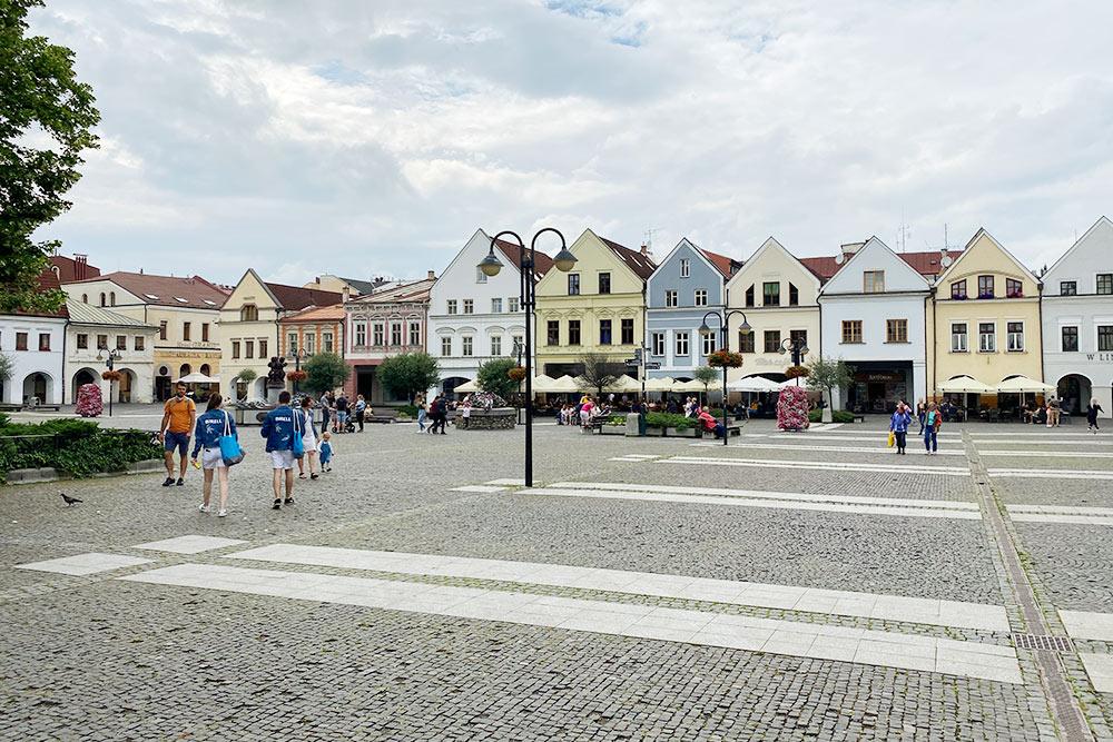 Главная площадь Жилины