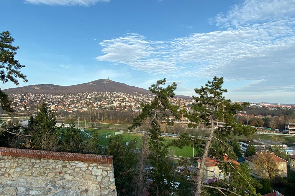 Вид с Нитранского града