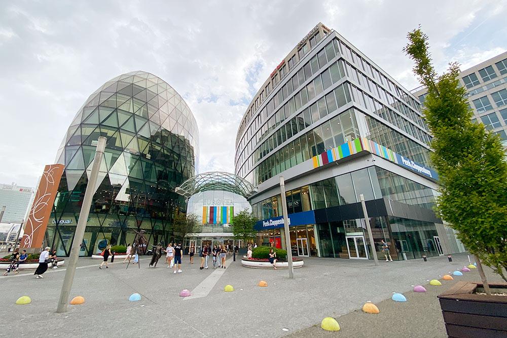 Торговый центр Eurovea