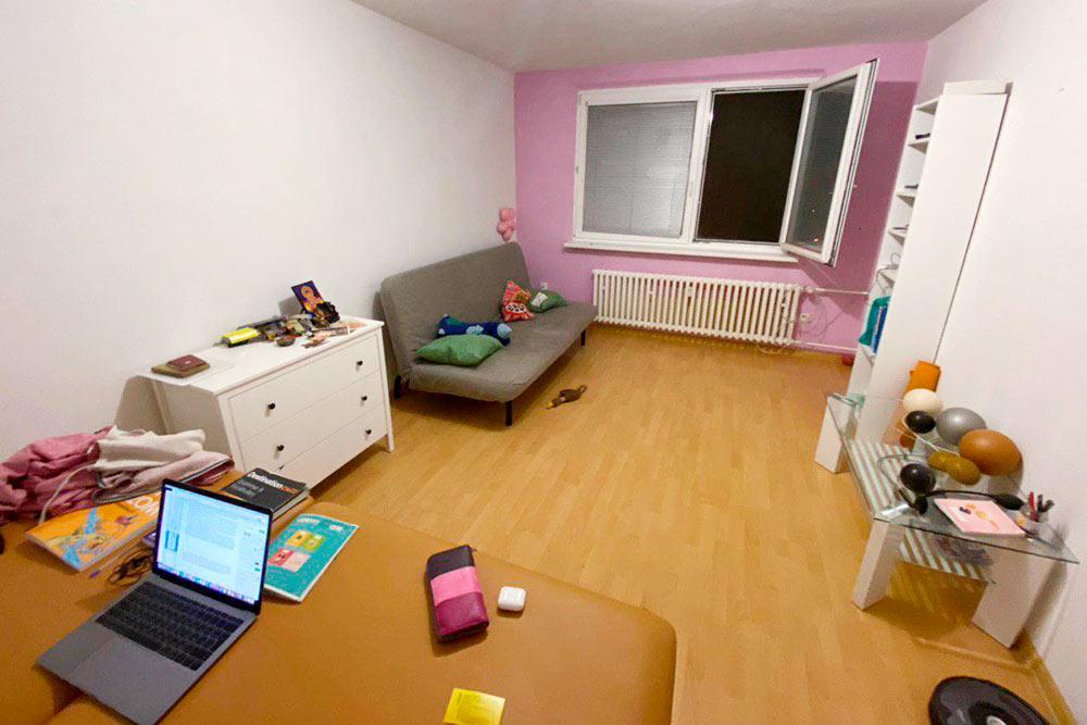 Моя квартира. Я плачу за нее 475€ в месяц