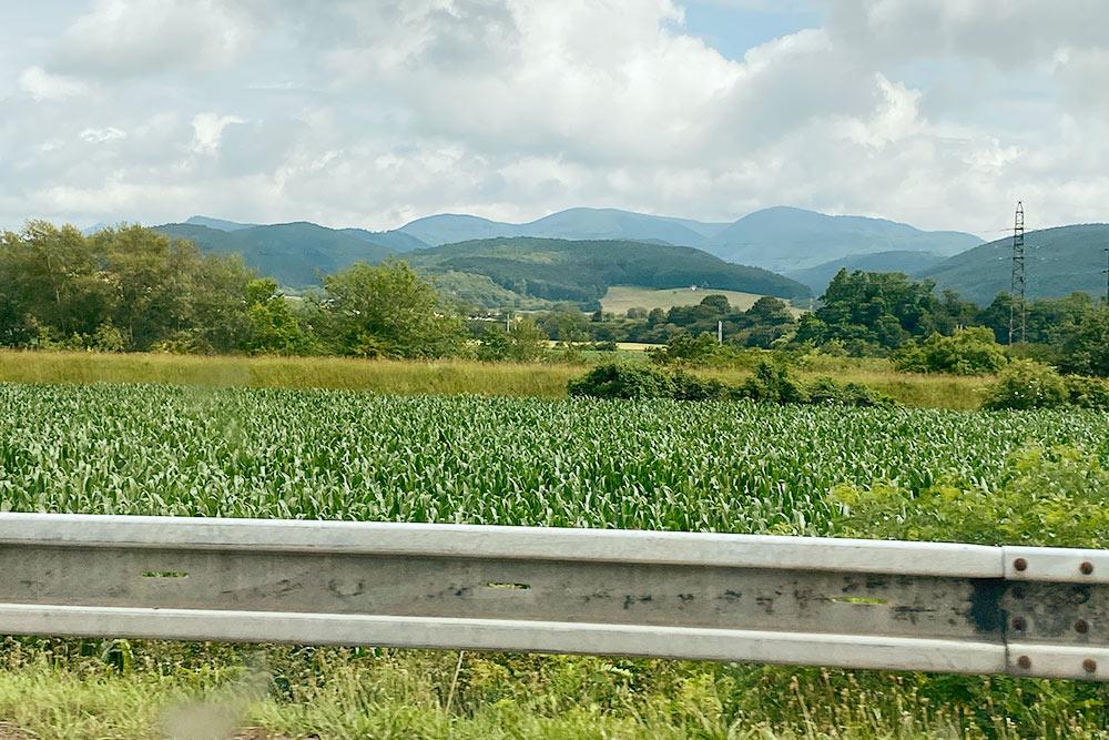 Вся северная часть Словакии образована горами и холмами