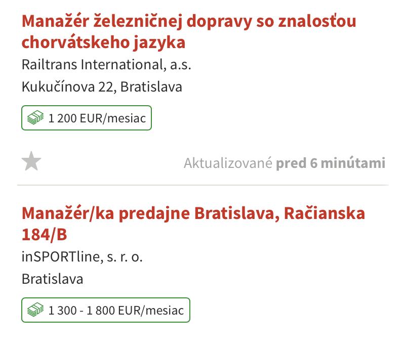 Менеджеру по продажам платят от 1200€