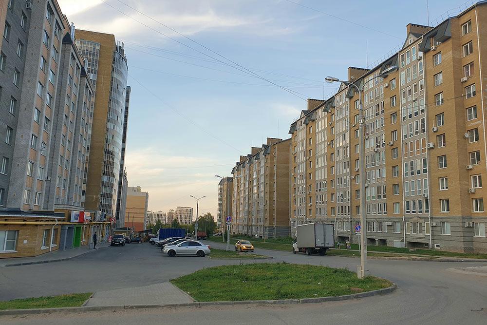 Микрорайон Благовещенский появился вцентре города в2009году ипродолжает застраиваться досихпор