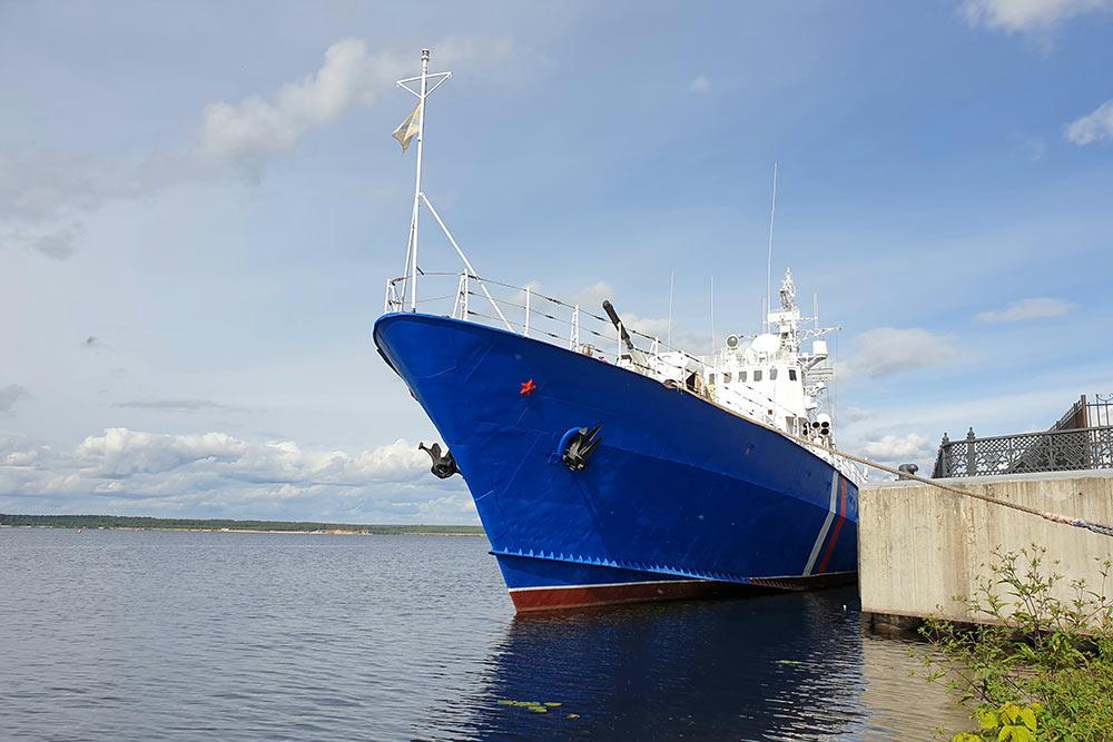 Летом 2020года изБалтийска в Чебоксарский речной порт навечную стоянку прибыл пограничный сторожевой корабль «Чебоксары». Вбудущем изнего планируют сделать музей