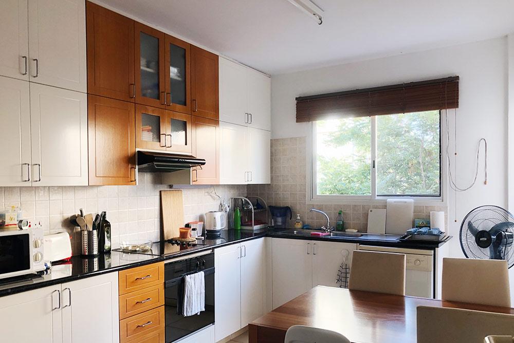Единственное достоинство нашей текущей квартиры кроме цены это большая отдельная кухня