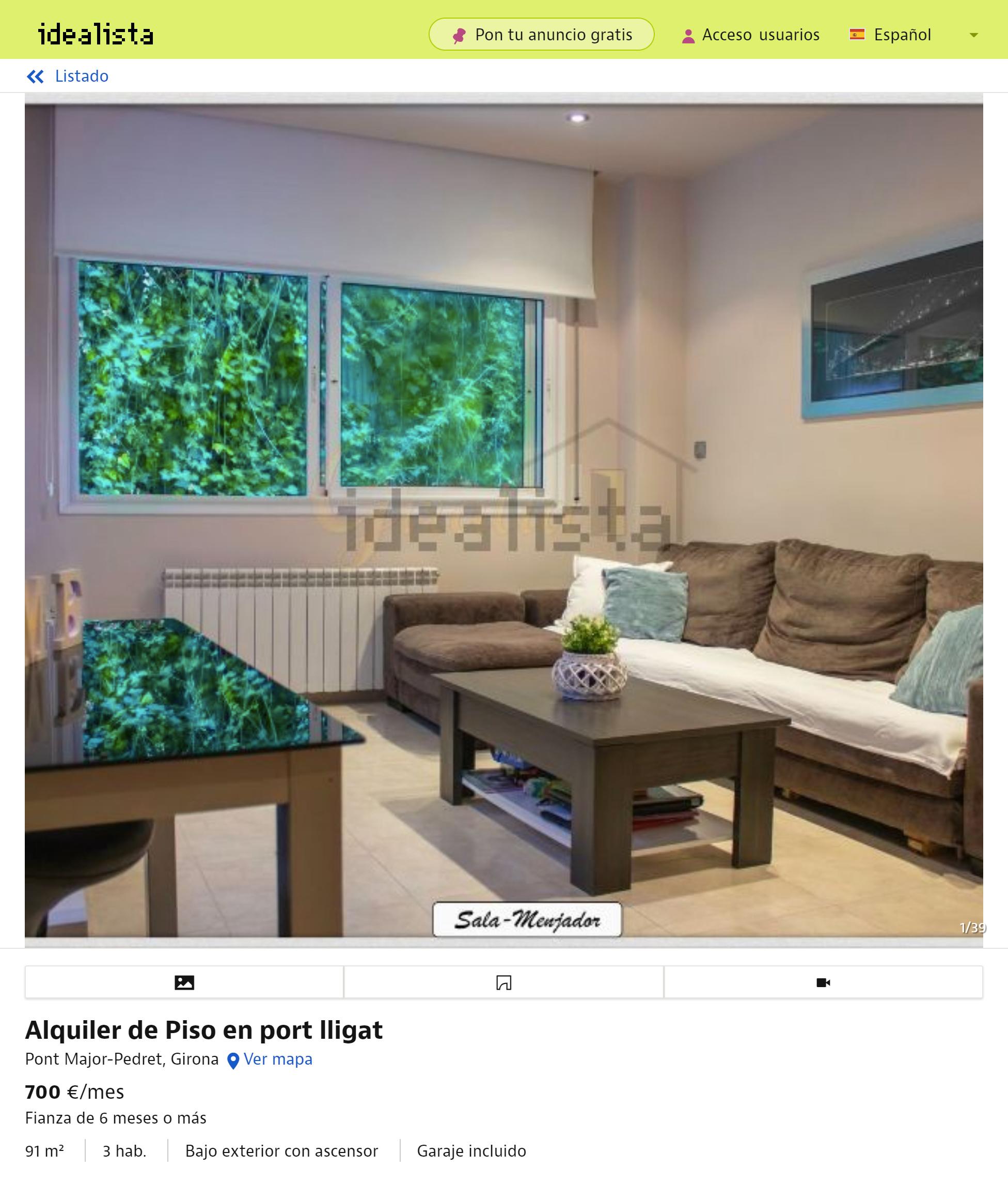 Квартира площадью 120м² с четырьмя спальнями в районе парка «Миждиа». Есть вся мебель. Стоимость — 1100€, парковочное место — плюс 140€ в месяц