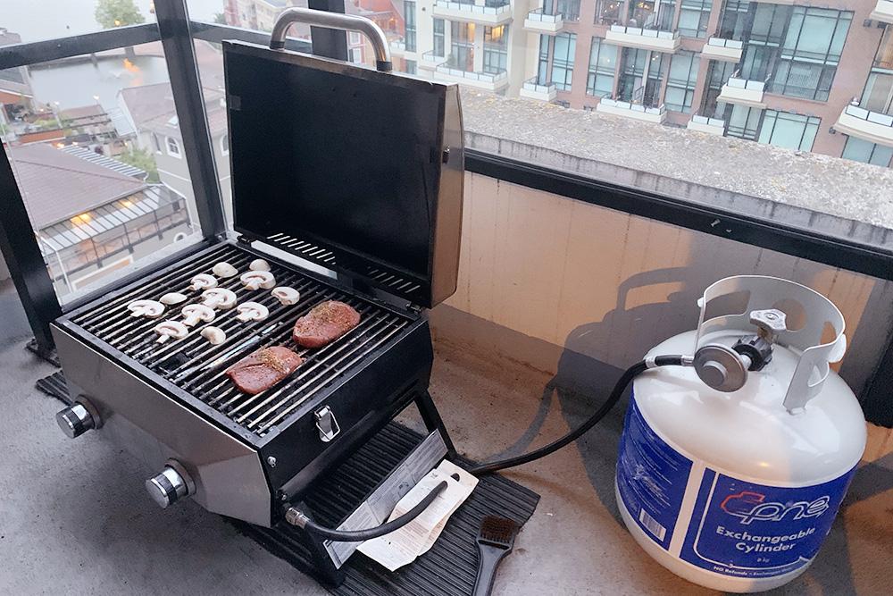 У большинства канадцев дома есть газовый гриль. Своим мыпользуемся 3—4 раза внеделю: готовим стейки, запекаем овощи, рыбу икреветок прямо набалконе ивозим его ссобой вкемпинги