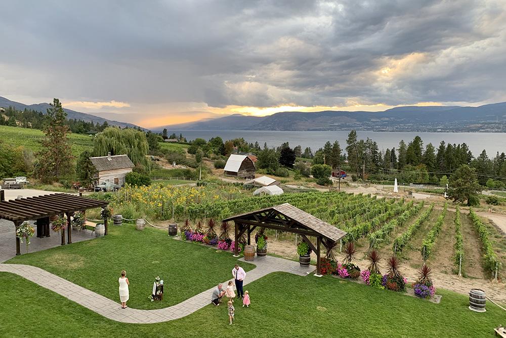 Винодельни Британской Колумбии настолько красивы, что их часто выбирают для проведения свадеб и других торжественных мероприятий