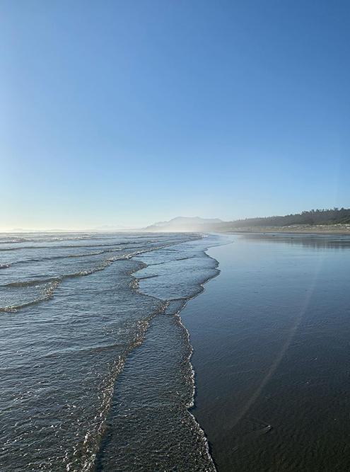 Лонг-Бич — самый длинный пляж Тофино, он тянется на 16километров