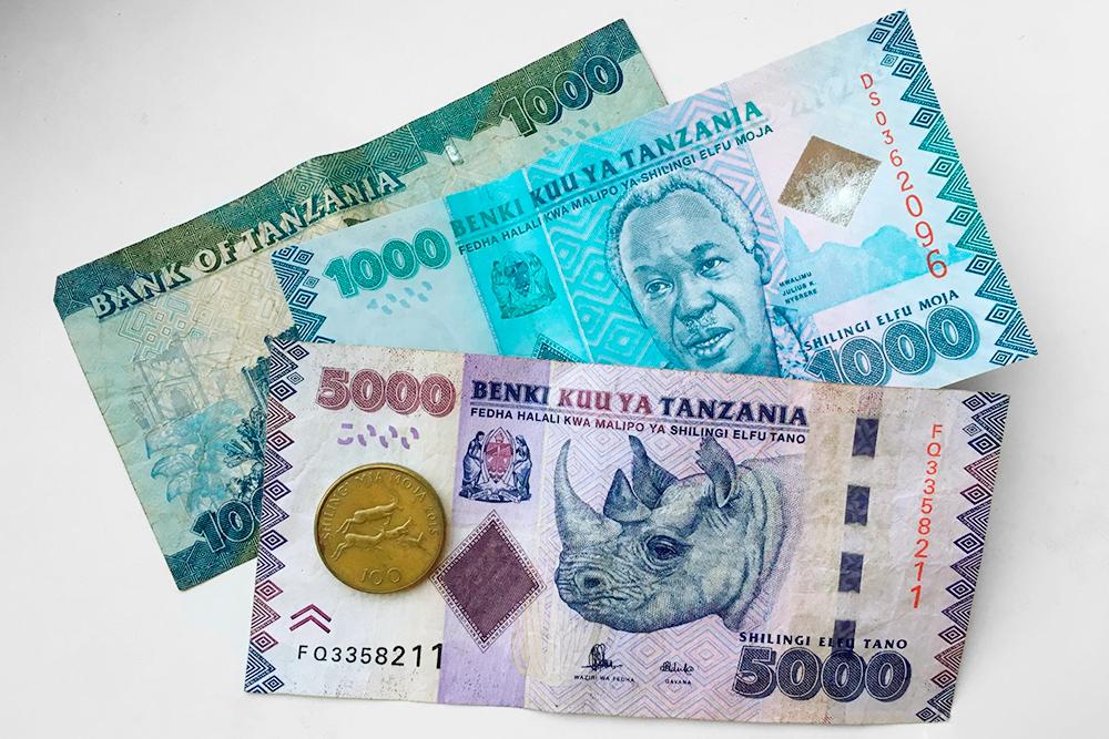 Танзанийские шиллинги
