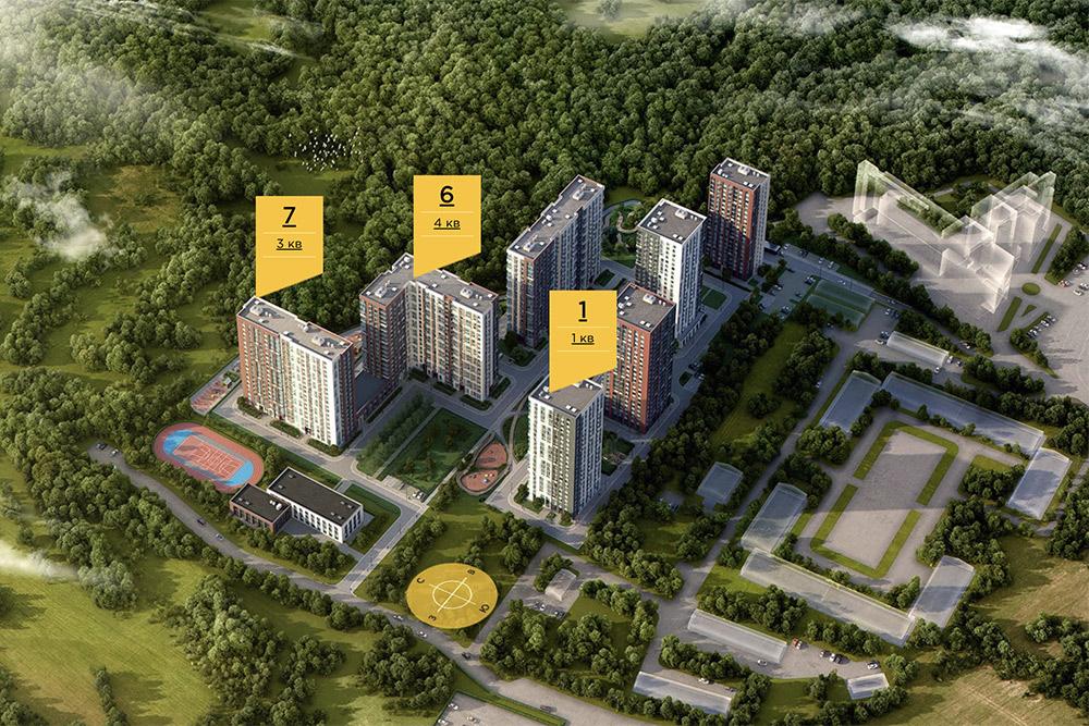 В Подмосковье и даже в Москве много аналогичных жилых комплексов. Вот еще один строится прямо в лесу, называется «Лесопарковый». Врядли в первые годы там будет хорошая инфраструктура и транспортная доступность. Зато свежий воздух — наверняка