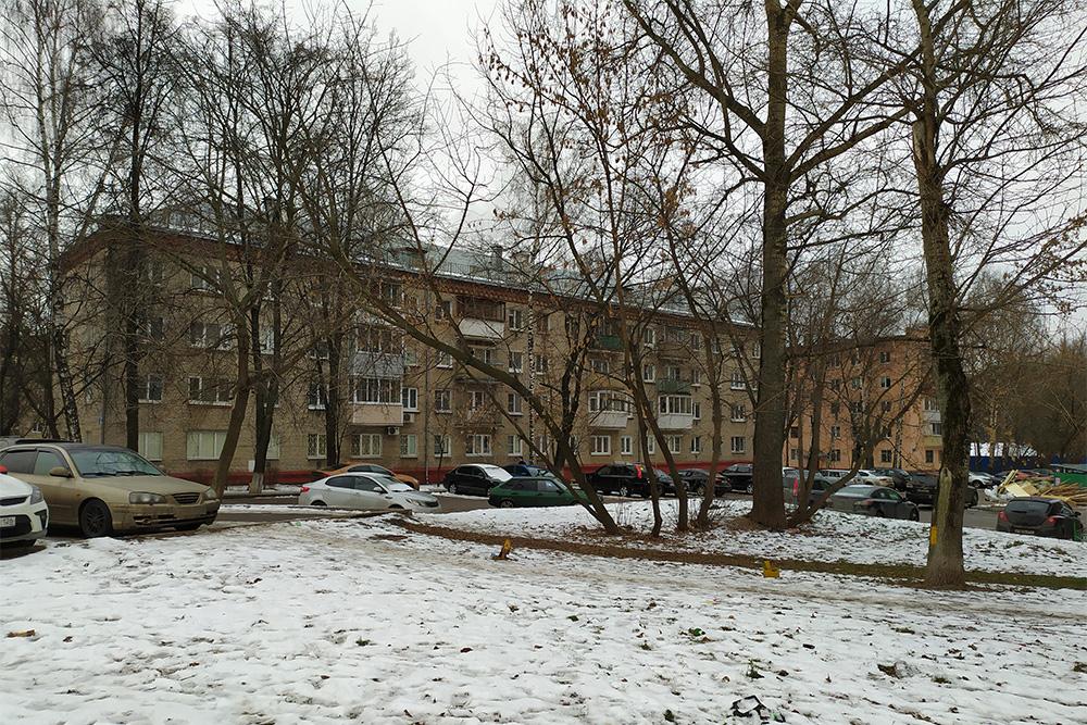 Большинство домов в моем районе — грустные советские панельки. Зато вокруг много деревьев. В жару я гуляю с детьми именно в старых дворах: там приятная тень