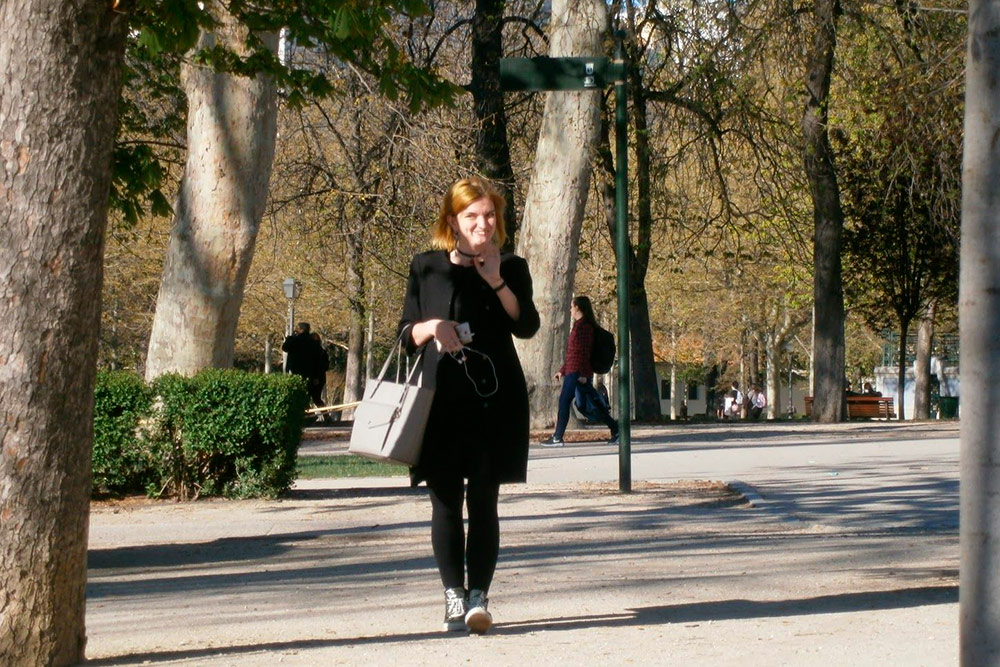 Я в парке Ретиро. Фото сделано в конце марта, в это время года тут +15...17 °C