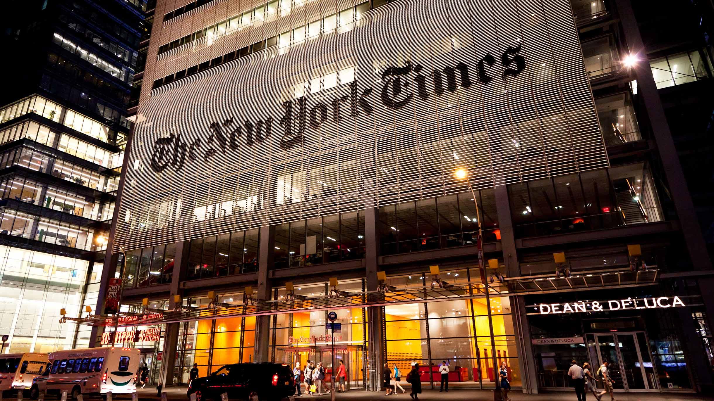 Журналистов приглашают на стажировку в TheNewYork Times и TheBoston Globe