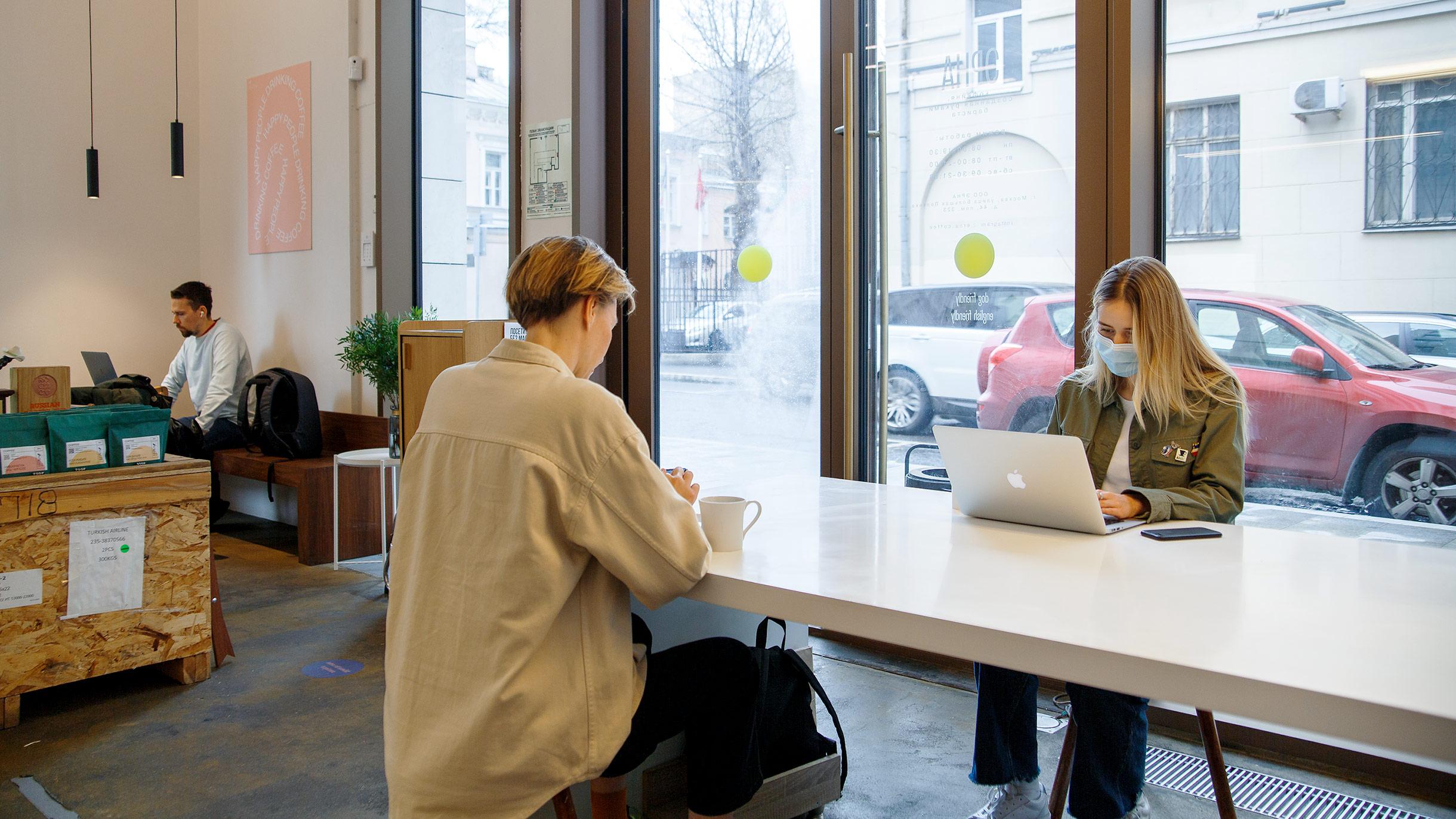 Как фрилансеры влияют на доход кофеен