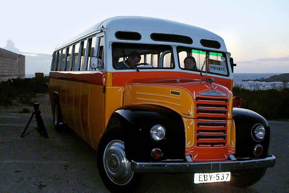 Раньше автобусы на Мальте выглядели так, но сейчас это уже раритет
