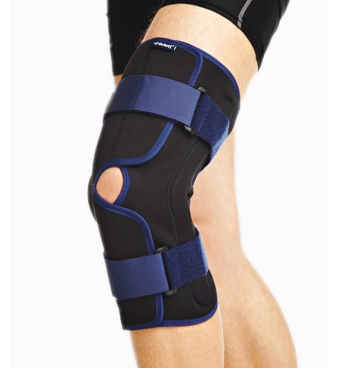 Специальный ортез поможет быстрее восстановиться после травмы. Стоимость от 3000 р. для колена, 2000 р. для голеностопа