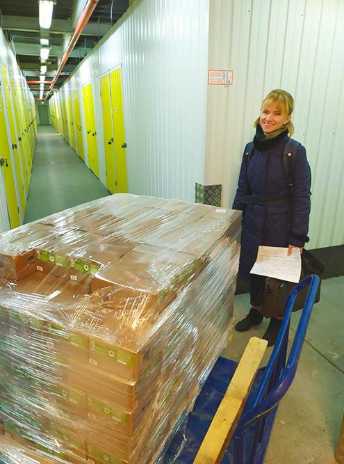 Мармелад хранится на складе в Москве — 4 м² стоят 6500 рублей в месяц