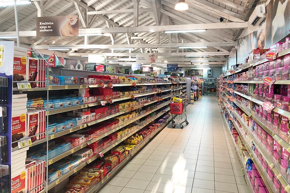 Супермаркет Idea Super в Зеленике
