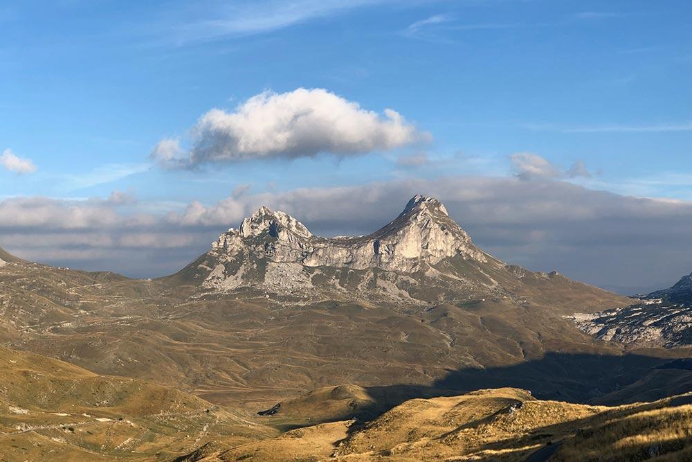 Горный перевал Седло, национальный парк Дурмитор