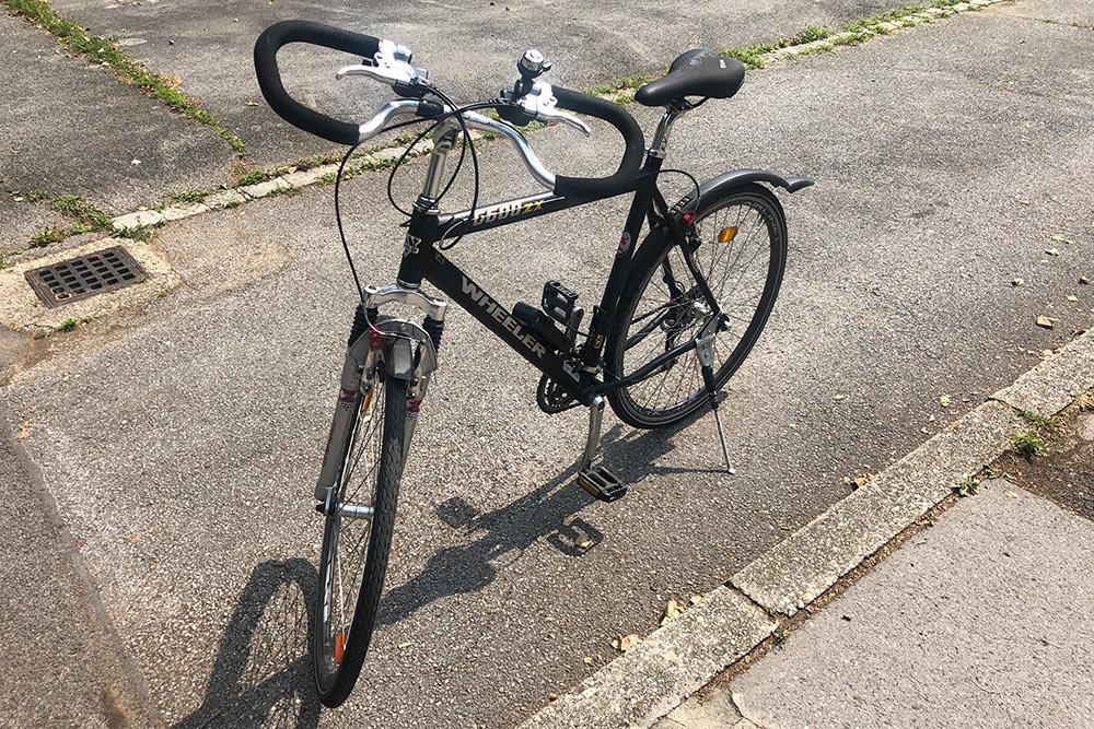 Наэтом велосипеде якатаюсь впарке или погороду