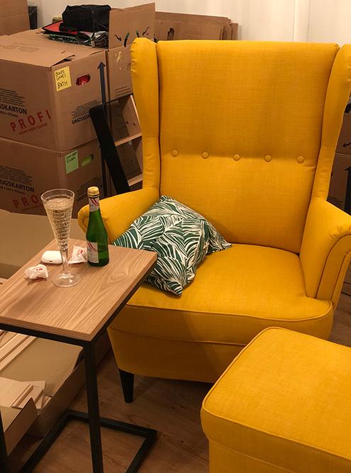 Это кресло мечты якупила в«Икее» почти сразу после переезда