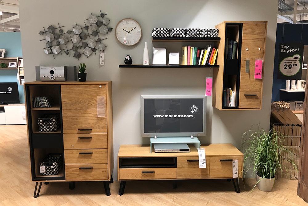 Это мебель для&nbsp;нашего зала. На&nbsp;фото нет только большого шкафа и&nbsp;полки. Мы забрали выставочные экземпляры, поэтому отдали всего 400€ (36 000<span class=ruble>Р</span>)