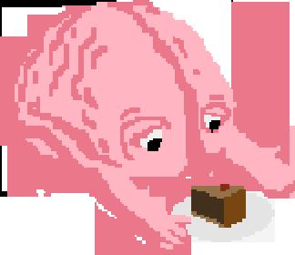 brain eats cake