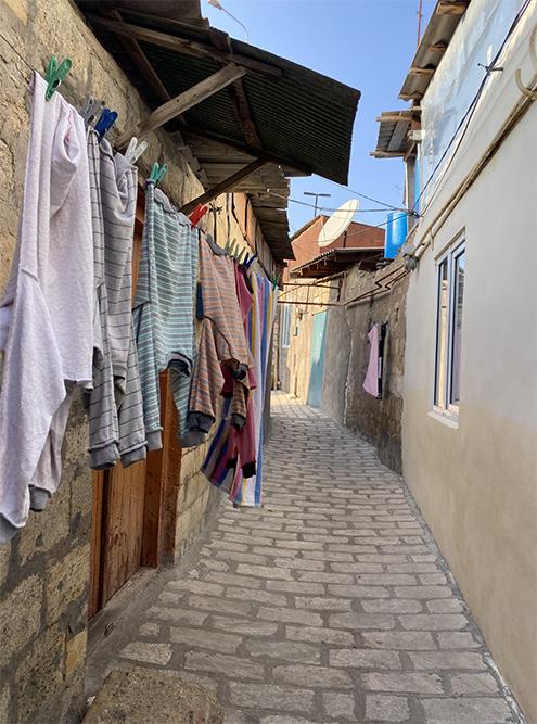 Так выглядит улица в старой части Дербента