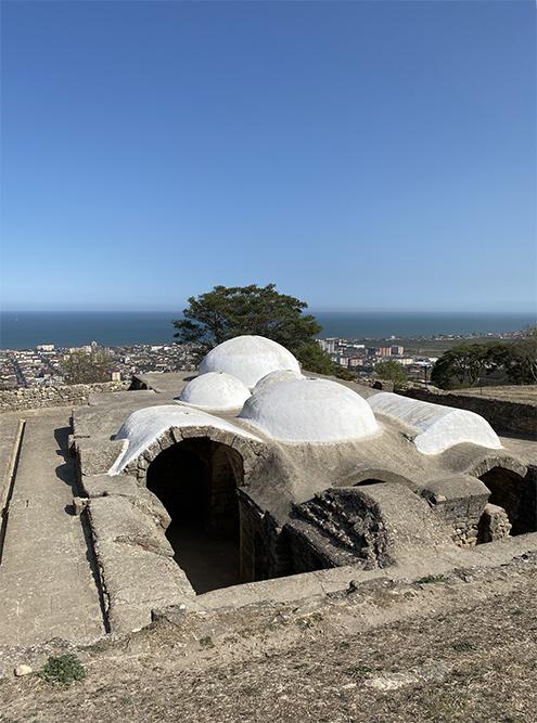 Это сооружение — баня, которую построили в 1532 году