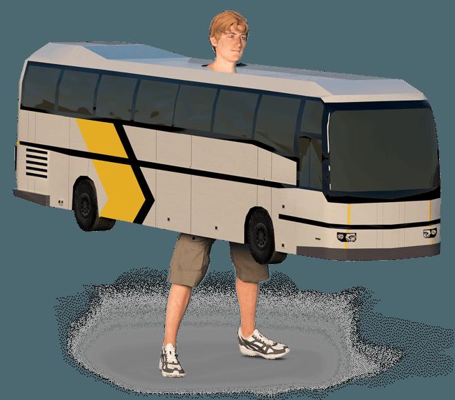 Как пассажиру автобуса получить компенсацию за ДТП