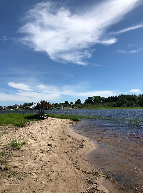 Последняя стоянка — уже на озере Селигер недалеко от Ниловой пустыни