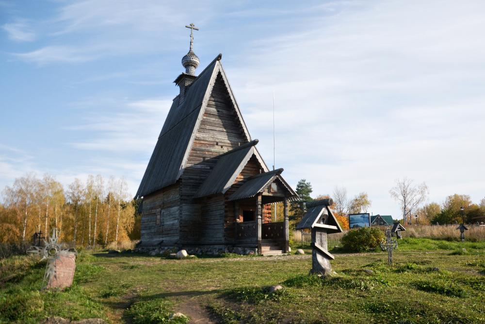 Деревянная церковь Воскресения Христова открыта длятуристов