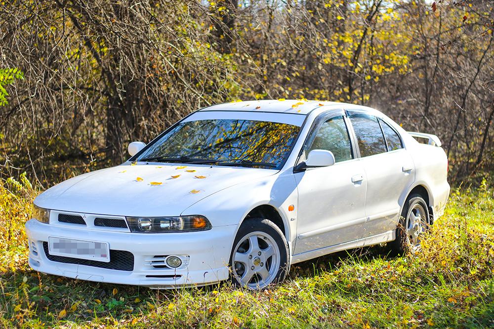Мицубиси Галант 1997года. Авто, которое осталось с нами после окончания этой истории