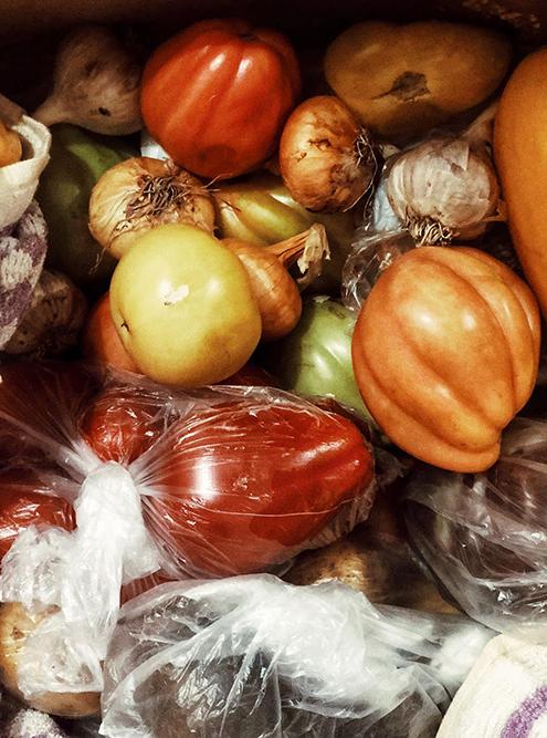 Мамины овощи