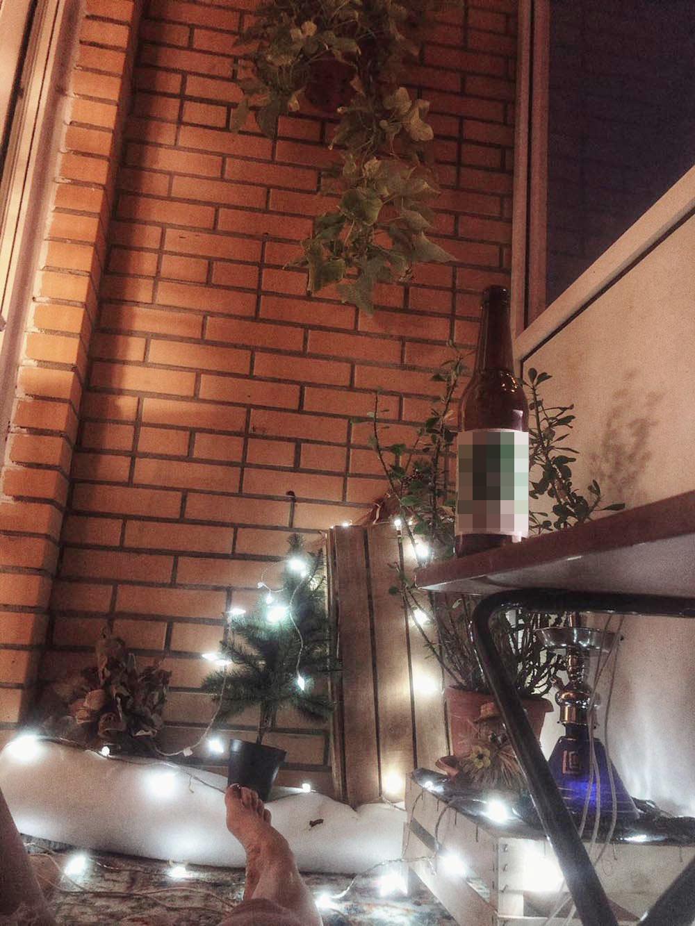 Чил на балконе
