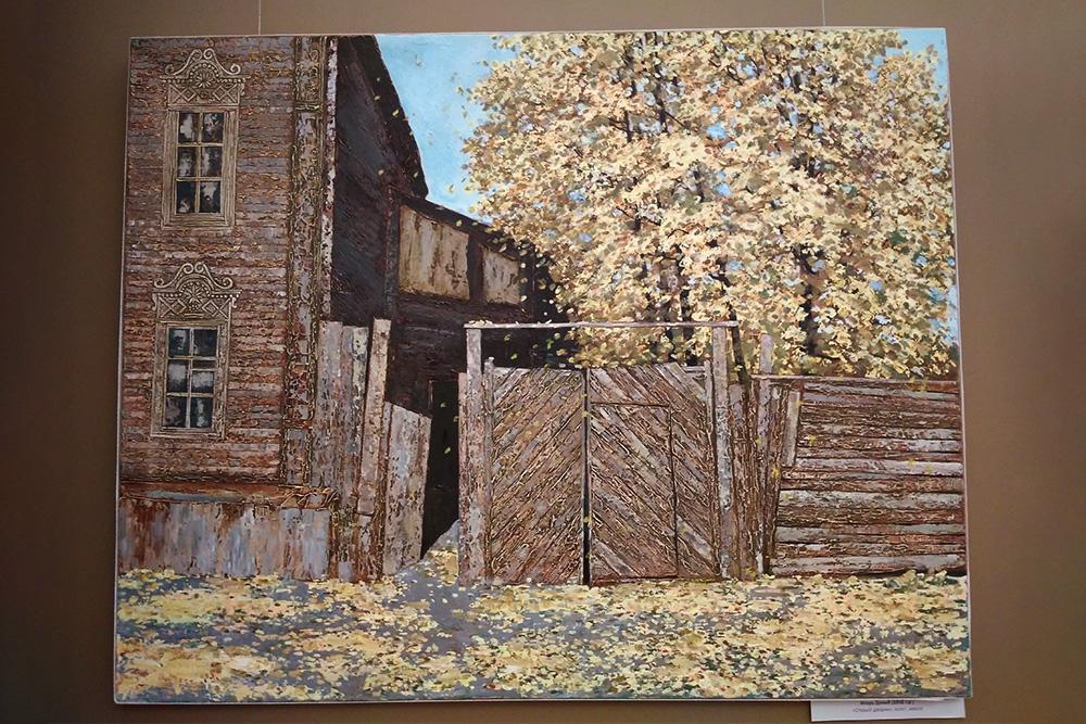 На многих картинах галереи изображены самарские дома и улицы