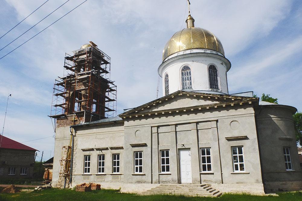 Церковь начала 20 века в последние годы активно восстанавливают