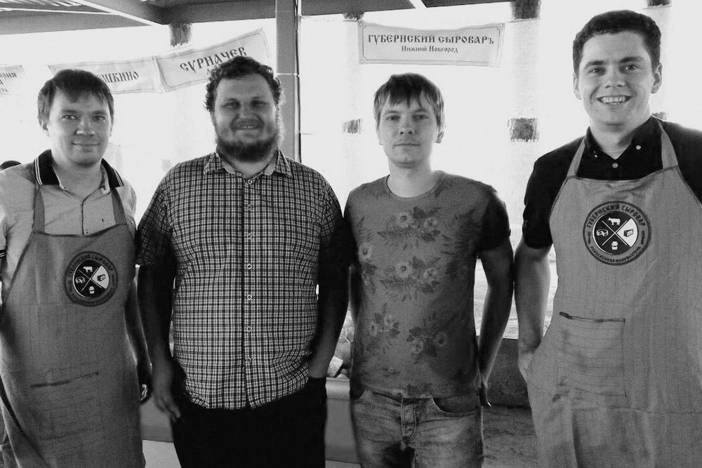 На сырном фестивале вместе с Олегом Сиротой — одним из известных сыроваров-энтузиастов в России