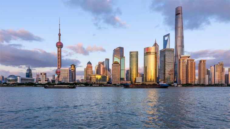 Самая известная панорама Шанхая