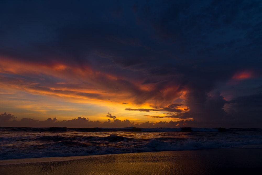 Самое красивое на Бали — это закаты на берегу океана