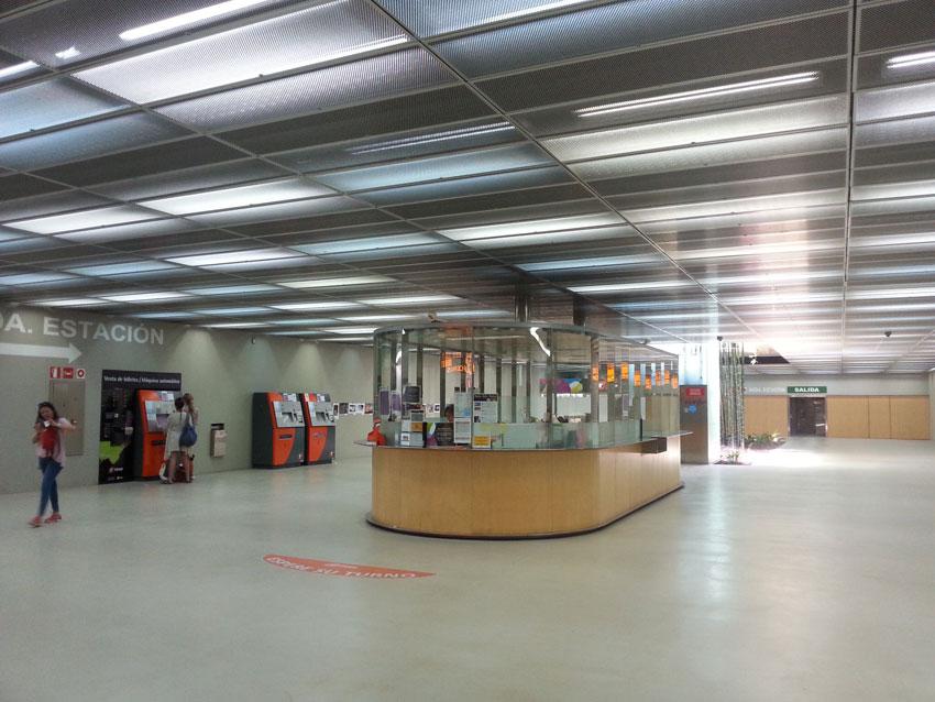 Бюро находок на станции «Лусерос»