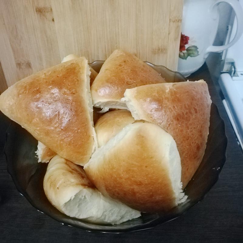 Испекла пирожки с капустой