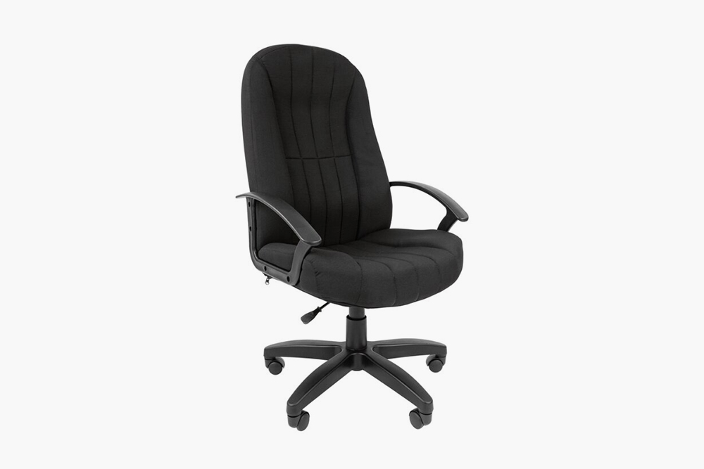 Кресло Chairman СТ-85 с&nbsp;обивкой из&nbsp;текстиля, 6182<span class=ruble>Р</span>. Источник: «Яндекс-маркет»