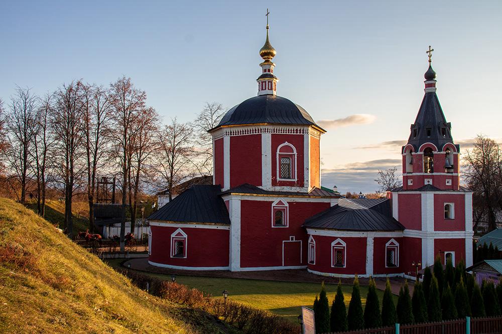 Изначально деревянная Успенская церковь была переделана вкаменную после большого пожара в1650году. Фото: Анастасия Осян