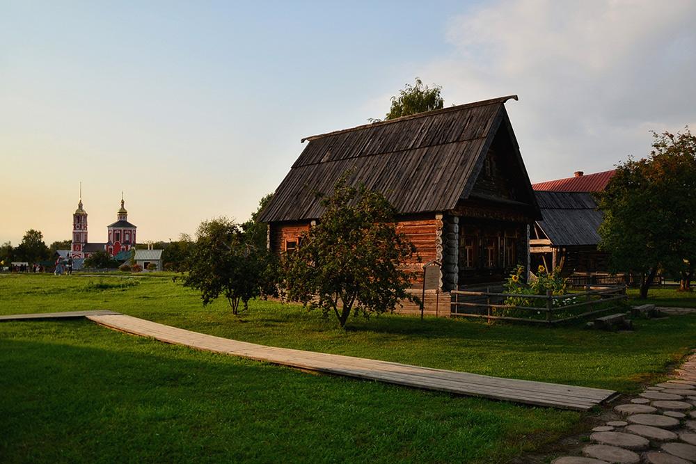 Вмузее воссоздана небольшая деревня Владимирской губернии