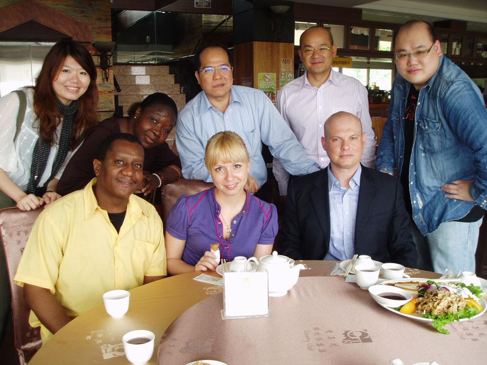 В аспирантуре в моей группе были ребята с Тайваня, из Италии, Гаити и Буркина-Фасо