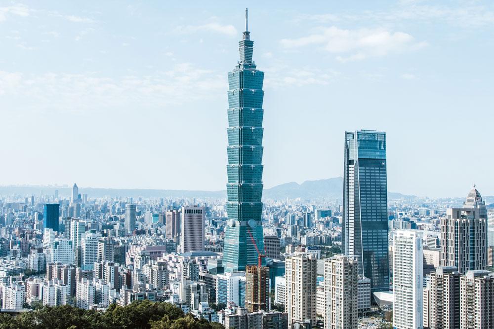 Небоскреб «Тайпэй−101» — символ тайваньского экономического чуда и одно из самых высоких зданий в мире — 508 метров. Источник: @remiyuan