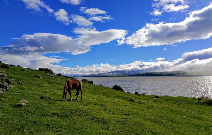 Озеро Паравани, три часа езды от Тбилиси