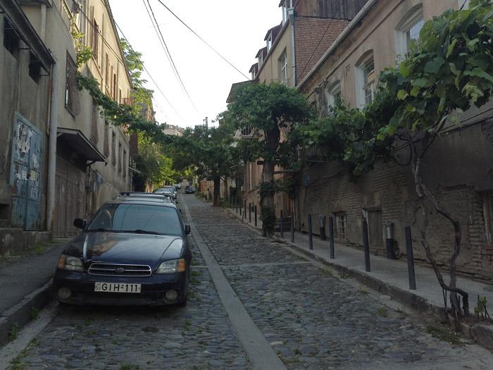 Улица, где мы снимаем квартиру